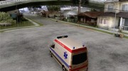 Mercedes-Benz Sprinter Baku Ambulans для GTA San Andreas миниатюра 3