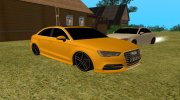 Audi A3 S-Line for GTA San Andreas miniature 3