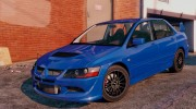 Mitsubishi Lancer EVO 8 MR Tunable for GTA 5 miniature 1