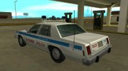 Ford LTD Crown Victoria 1987 Chicago Police Department for GTA San Andreas miniature 4