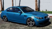 BMW M5 E60 v1.1 for GTA 5 miniature 2