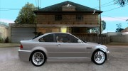 BMW M3 e46 for GTA San Andreas miniature 5
