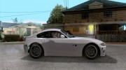 BMW Z4 M Coupe for GTA San Andreas miniature 5