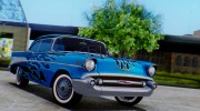 1957 Chevrolet Bel Air Sport Coupe for GTA San Andreas miniature 12