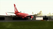 Boeing 737-800 Gol Transportes Aéreos for GTA San Andreas miniature 6