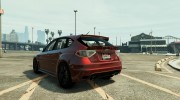Subaru Impreza WRX STI 1.1 for GTA 5 miniature 3