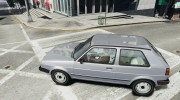 Volkswagen GOLF MK2 GTI for GTA 4 miniature 2