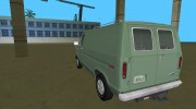 Ford E-150 (Short Version) 1983 Commercial Van for GTA Vice City miniature 2