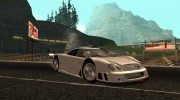 Mercedes-Benz CLK GTR Road Version with Carbon Spoiler для GTA San Andreas миниатюра 2