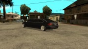 BMW E66-7 Series Limousine from Brazil для GTA San Andreas миниатюра 4