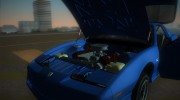 Pontiac Firebird Trans Am 1987 (HQ) for GTA Vice City miniature 6