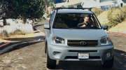 Toyota RAV 4 (XA20) for GTA 5 miniature 4