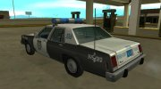 Ford LTD Crown Victoria 1987 Medford Special Police for GTA San Andreas miniature 4
