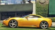 2012 Ferrari California BETA for GTA 5 miniature 3