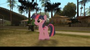 Twilight Sparkle (My Little Pony) для GTA San Andreas миниатюра 2