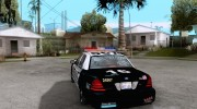 Ford Crown Victoria San Andreas State Patrol для GTA San Andreas миниатюра 3