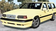 Volvo 850 T5 R Estate 1995 for BeamNG.Drive miniature 1