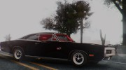 1970 Dodge Charger R/T 440 (XS29) для GTA San Andreas миниатюра 6