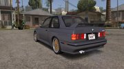 BMW M3 E30 (US-spec) 1991 for GTA San Andreas miniature 3