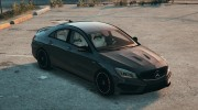 Mercedes-Benz CLA45 AMG Black DTD edition for GTA 5 miniature 4