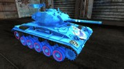 Аниме шкурка для M24 Chaffee для World Of Tanks миниатюра 5