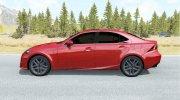 Lexus IS 350 F Sport (XE30) 2013 for BeamNG.Drive miniature 2