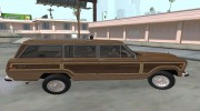 Jeep Grand Wagoneer 1986 for GTA San Andreas miniature 5