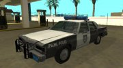 Ford LTD Crown Victoria 1987 Medford Special Police for GTA San Andreas miniature 1
