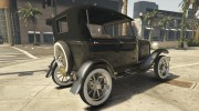 Ford T 1927 Tin Lizzie for GTA 5 miniature 12
