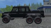 Mercedes-Benz G65 AMG 6X6 for Farming Simulator 2015 miniature 5