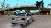 BMW 135i Coupe Stock for GTA San Andreas miniature 4