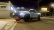 Nissan Titan Warrior 2017 для GTA San Andreas миниатюра 9