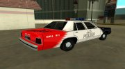 Ford LTD Crown Victoria 1991 Copley Police DARE black, white and red for GTA San Andreas miniature 3