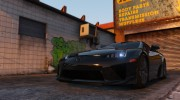2010 Lexus LFA v1.3 for GTA 5 miniature 1