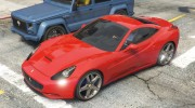 2012 Ferrari California BETA for GTA 5 miniature 5