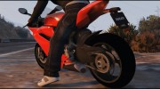 Ducati 1299 Panigale S v1.1 for GTA 5 miniature 7