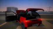 Suzuki Swift for GTA Vice City miniature 8