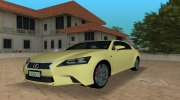2013 Lexus GS 350 F Sport for GTA Vice City miniature 1