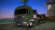 DAF XF 530 2002 Army for GTA Vice City miniature 1