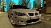 BMW M5 E60 for GTA San Andreas miniature 3