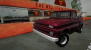 1965 Chevrolet C-10 Stepside Pickup for GTA San Andreas miniature 1
