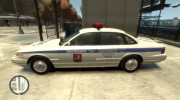 1995 Ford Crown Victoria (Moscow Police) for GTA 4 miniature 3