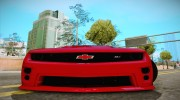 Chevrolet Camaro ZL1 2014 for GTA San Andreas miniature 2