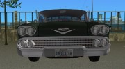 Chevrolet Impala 1958 for GTA Vice City miniature 2
