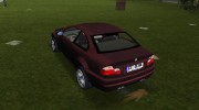BMW M3 E46 for GTA Vice City miniature 3