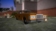 Ford Custom 500 (4-door) 1975 Taxi for GTA Vice City miniature 2
