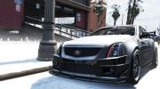 2009 Cadillac CTS-V for GTA 5 miniature 6
