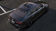 Audi A6 Skylight Edition 2013 for GTA 5 miniature 4