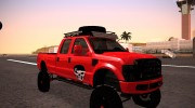 Ford F-350 2010 Lifted Sema Show for GTA San Andreas miniature 2