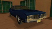 Oldsmobile 442 1970 for GTA Vice City miniature 1
